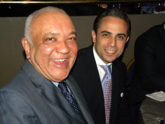 Jochy Santos y Antonio Espaillat