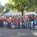 Malecon lleno de gente