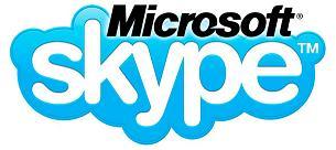 logo skype microsof