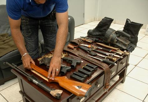 Armas en Punta Caucedo