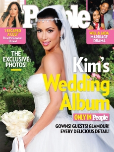Kkim Kardashian en People