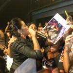 Martha con sus fans