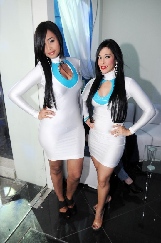 Carmen Samboy y Lisette Queliz