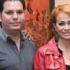 Miriam Cruz y su esposo Landolfis
