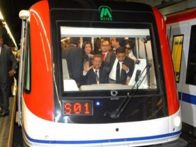 Leonel en el Metro