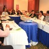 Vista parcial de los representantes de las entidades que participaron en el encuentro.