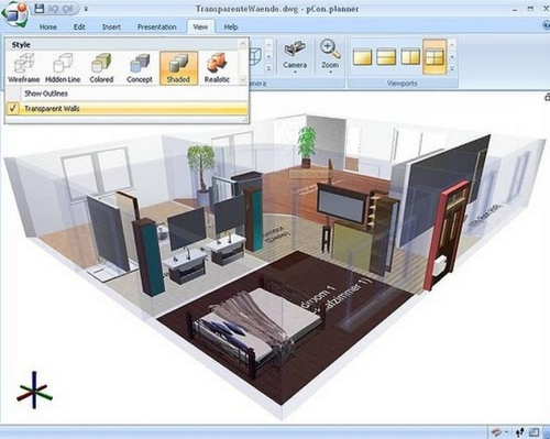 Dise o de interiores 3d gratis for Aplicacion para diseno de interiores 3d