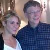 shaquira y Bill Gates