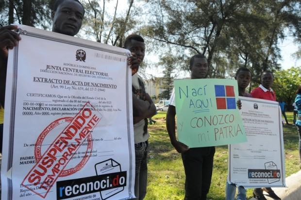 Haitianos que quieren votar