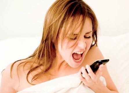 mujer celular