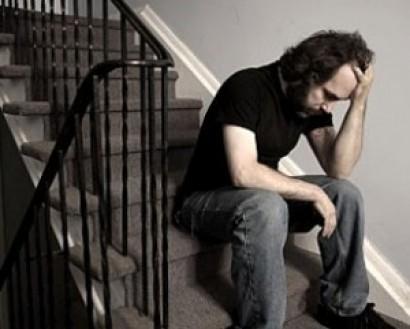 hombre depresion