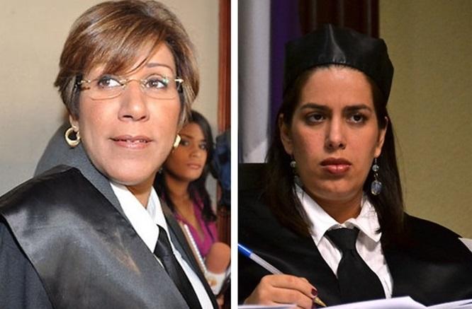 Elka Reyes y Rosanna Vasquez