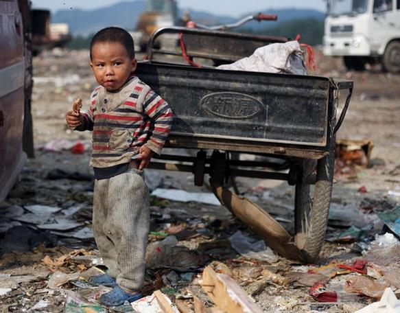 Pobreza en china