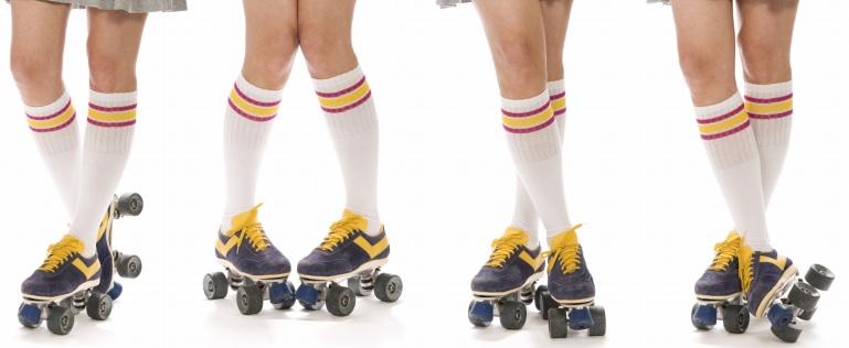 Mundo sobre ruedas patines