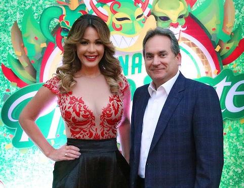 Luz Garcia y Franklin Leon