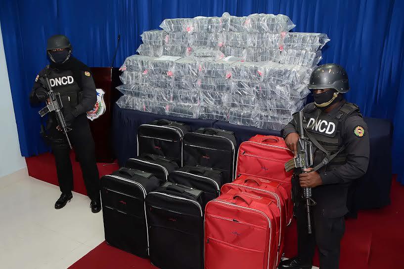 droga en maletas