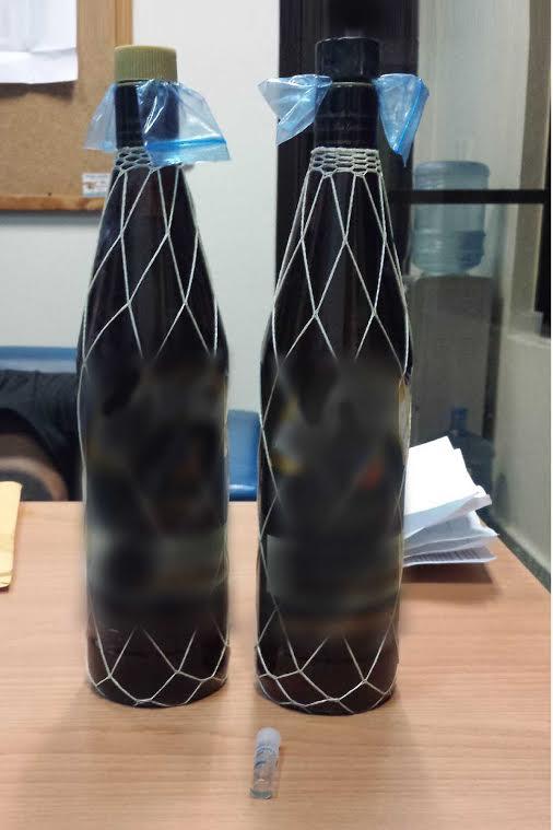 Botellas de Brugal