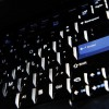 Un teclado de ordenador en una foto de archivo (AFP/Archivos | Greg Wood)