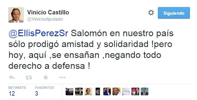 Vinicio twit