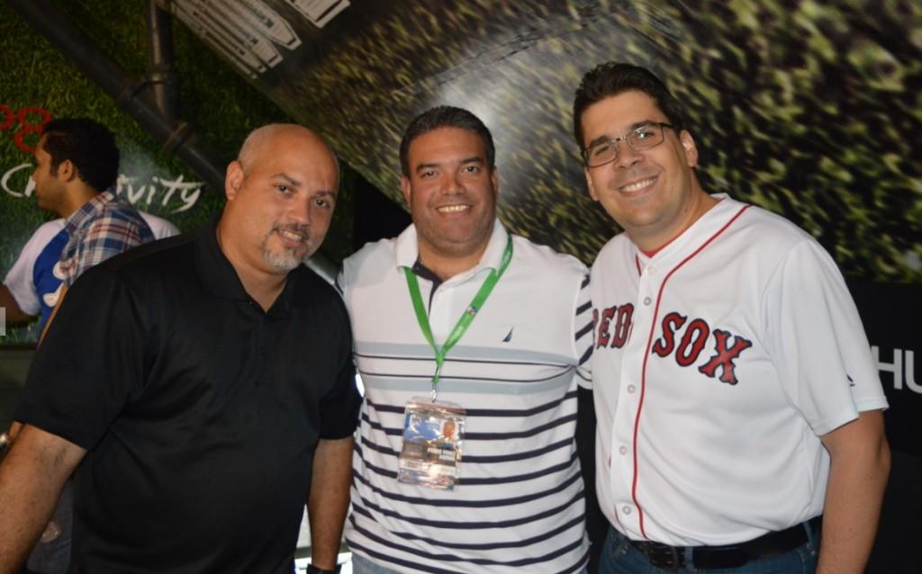 Danny, Pedro y Ravelo