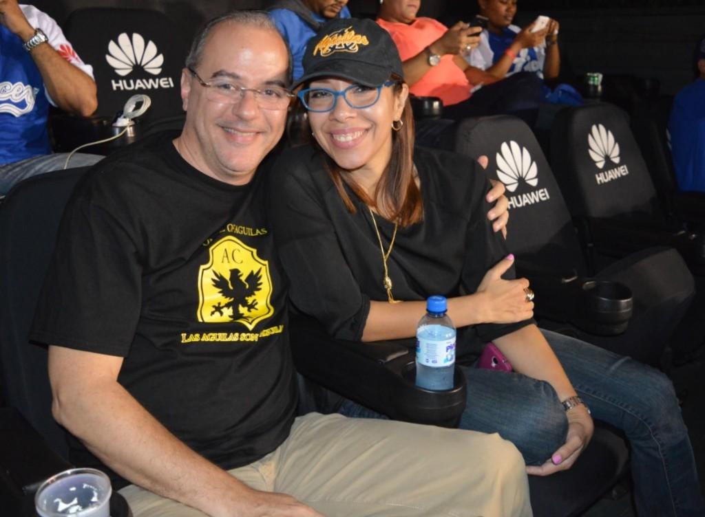 Pedro N y su esposa