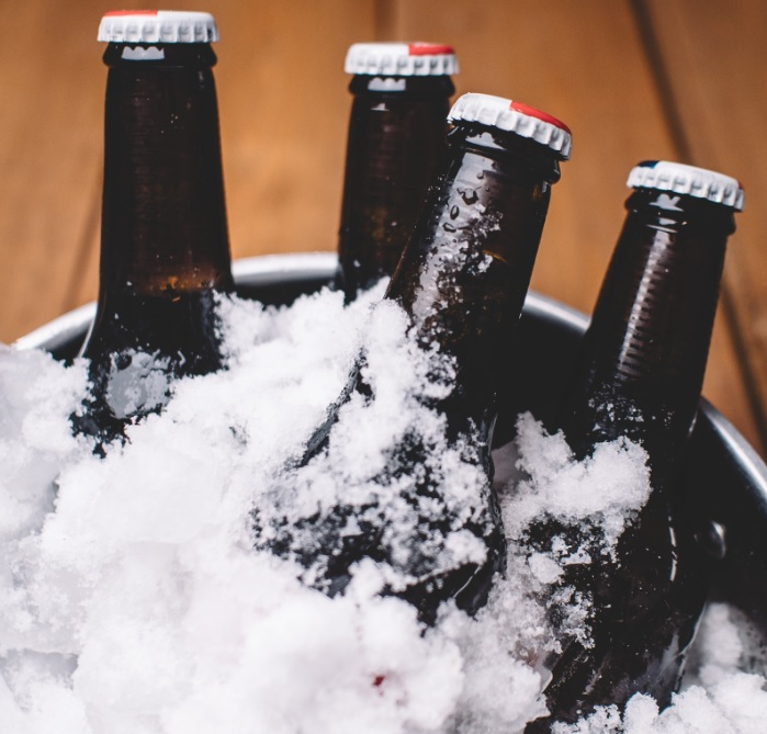 Cerveza congelada
