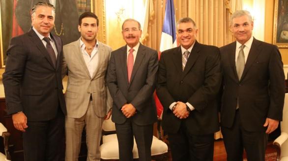 Danilo y empresarios
