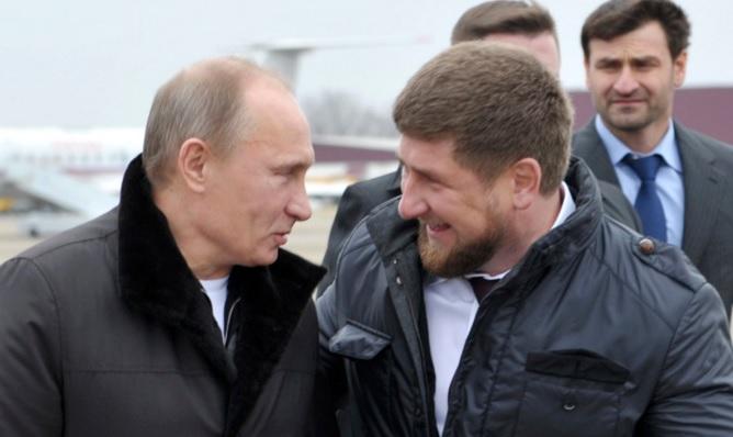 Putin y Ramzan