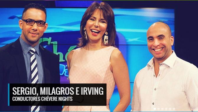 Sergio, Milagros, Irving