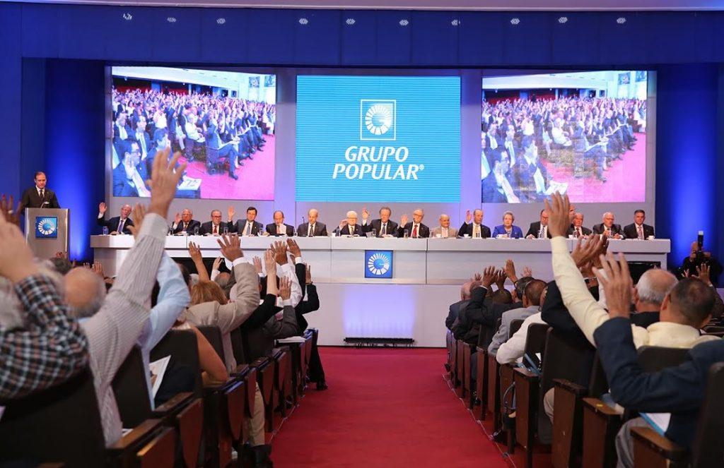 El Grupo Popular cuenta con 9,972 accionistas y 8,820 empleados.
