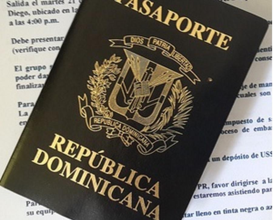 Pasaporte dominicao