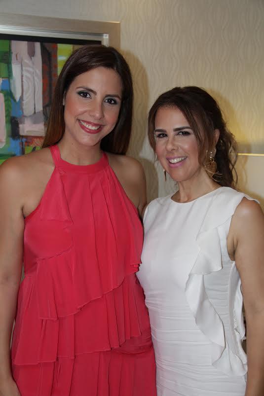 Laura con Ingrid