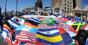 banderas imigrantes eeuu ilegales