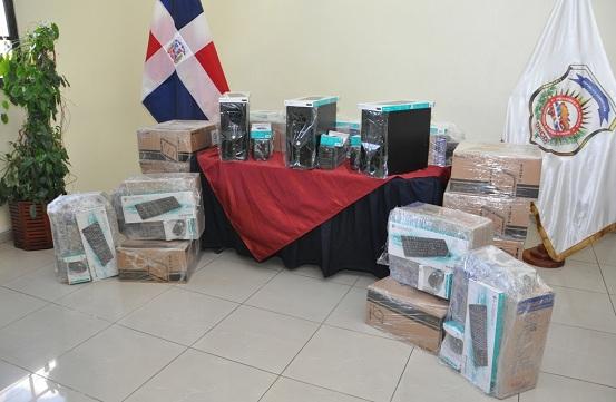 equipos donados