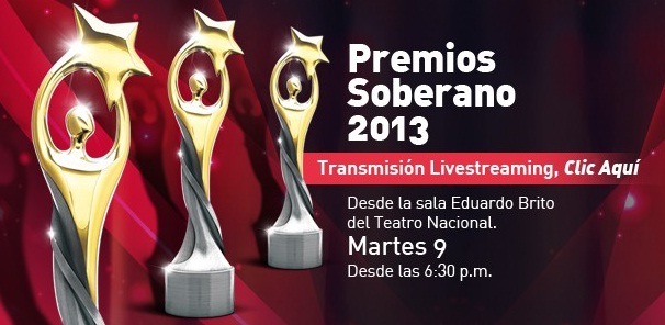 Transmision en vivo Premios Soberano