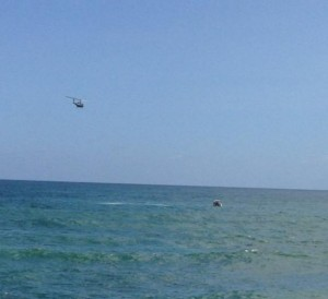 helicoptero rescate