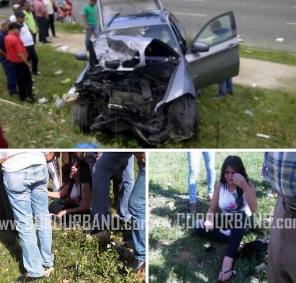 Accidente Tamara Martinez