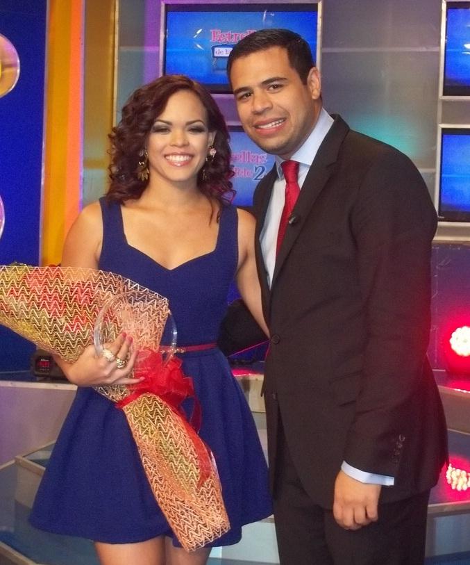 Kiara Romero y Roberto Angel Salcedo
