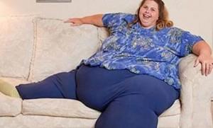 obesa feliz