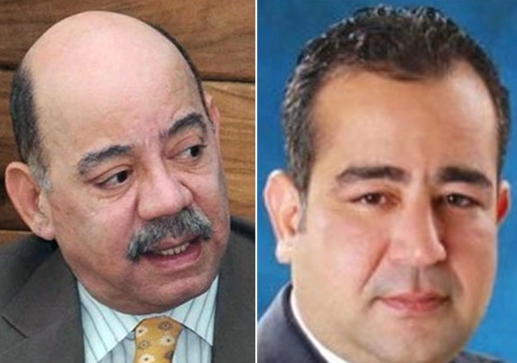Cesar Medina y su hijo Oscar Medina