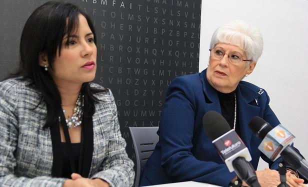 Monika Melo y Belkis Guerrero