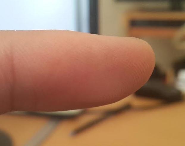 Dedo huellas digitales