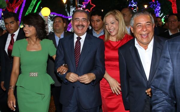 Danilo, Candida y Roberto Salcedo