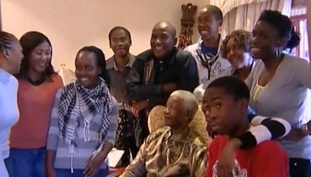 Familia de Mandela