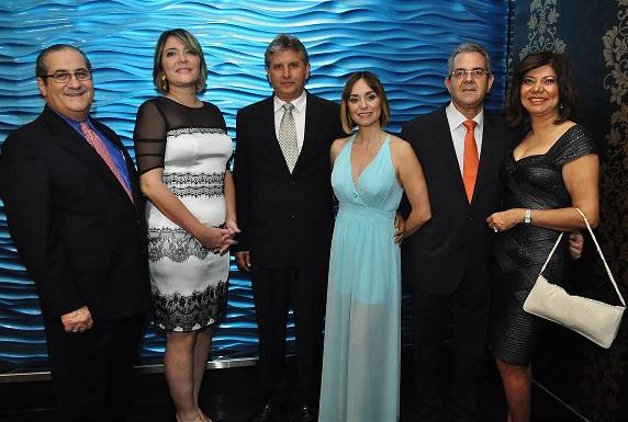 Teo Veras, Betsabe Bestepan, Joaquin Geara, Vicky Hormazabal, Adis Montero, Maria Salome Romero de Montero