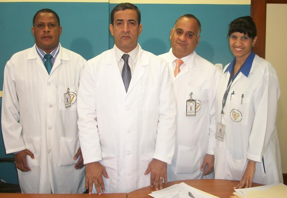Alberto Diaz equipo de direccion del Hospital