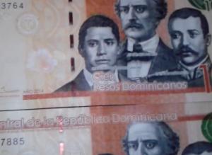 nuevos billetes de 100 Republica dominicana