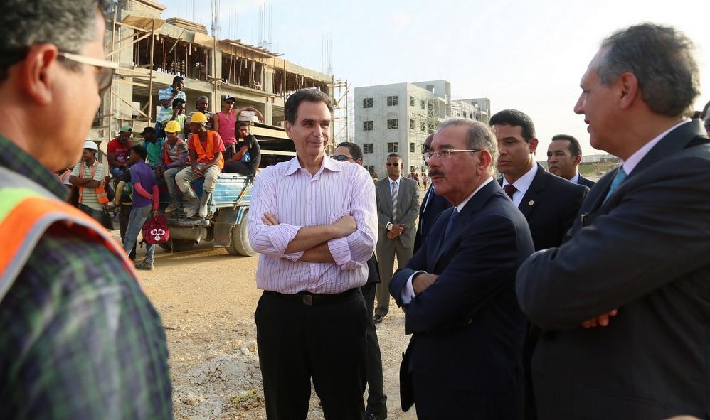 Danilo Medina en La Barquita