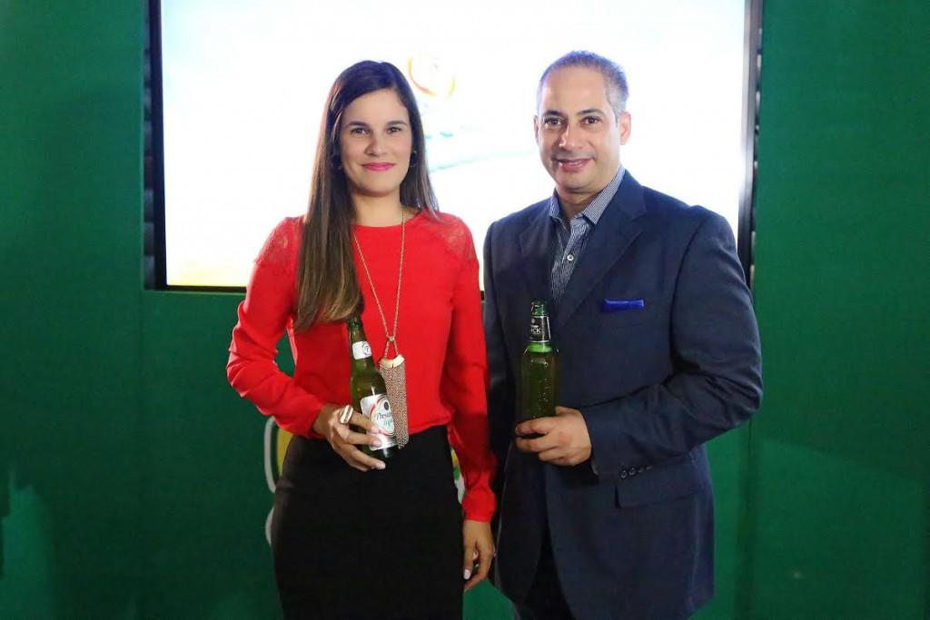 Melissa Martinez y Francis Gallardo