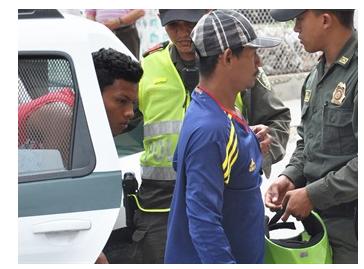 colombiano preso